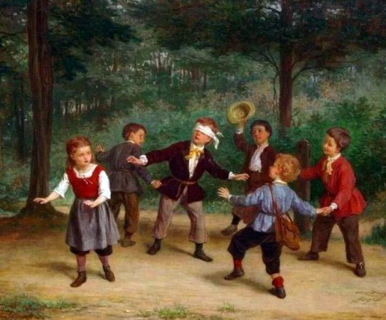 Детские народные игры картинки